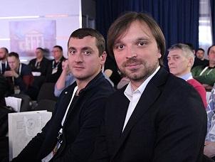 Участники международного конгресса Виктор Муханов и Александр Карпашевич