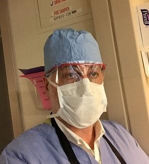 Доктор Дундуа в операционной госпиталя Методистов